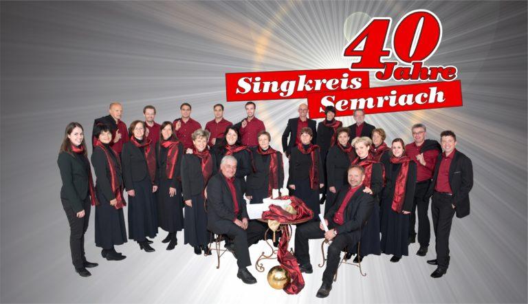 40 Jahre Singkreis Semriach - Logo 3 - 19 7 2016