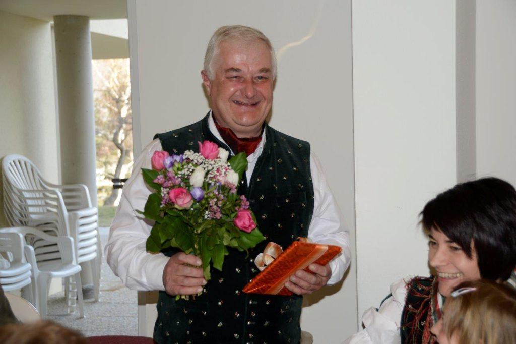 Obmann Anton Pichler