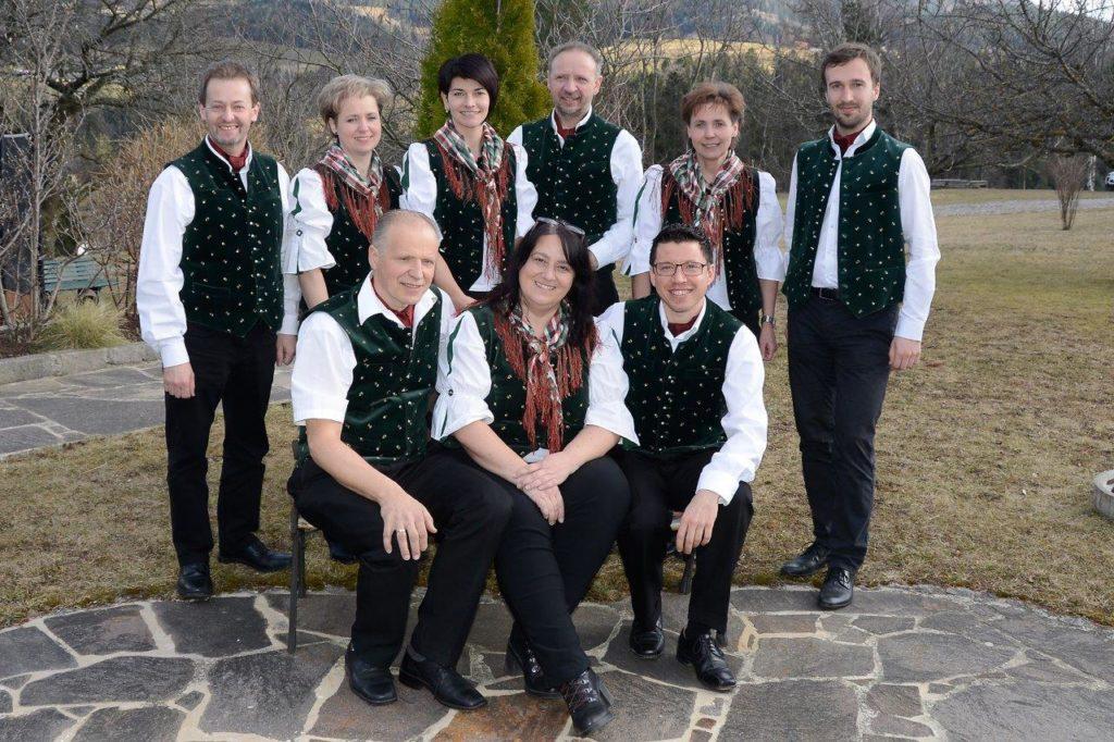 Der neue Vorstand vom Singkreis Semriach